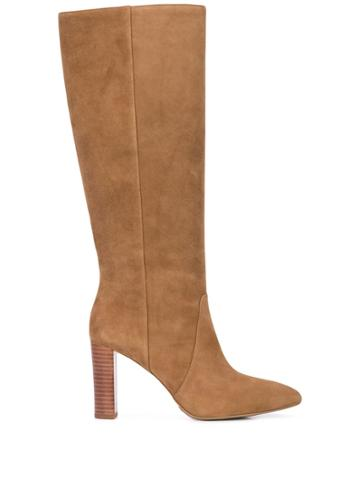 Paige Carmen Knee Length Boots - Brown