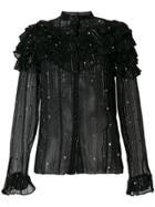 Dodo Bar Or Embellished Blouse - Black