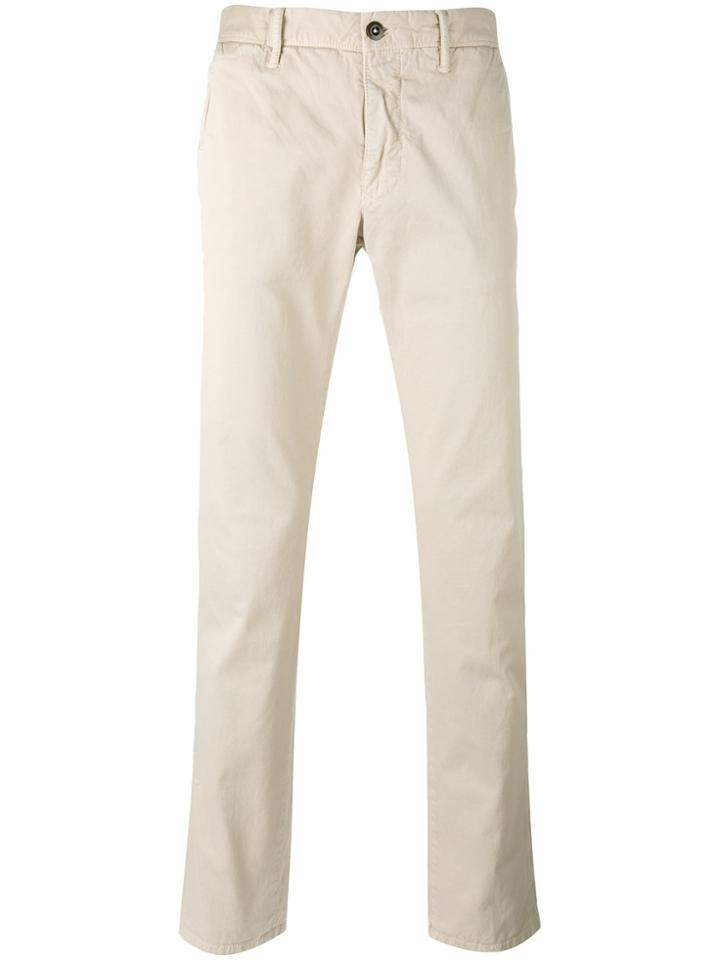 Incotex Slim-fit Chino Trousers - Nude & Neutrals