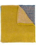 Humanoid Chunky Knit Scarf - Blue