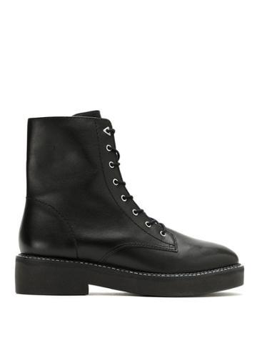 Schutz Schutz S2067300010002 Black Furs & Skins->leather