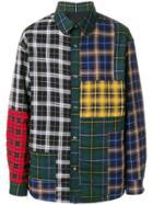 Lanvin Patchwork Checked Shirt - Multicolour