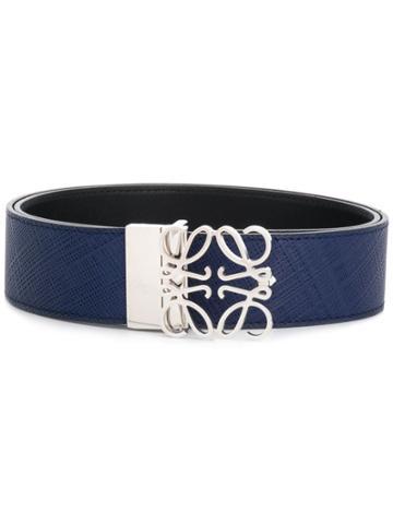 Loewe Puzzle Buckle Belt - Blue