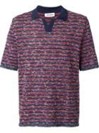 Umit Benan Striped Polo Shirt
