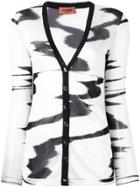 Missoni Abstract Patterned Cardigan - White