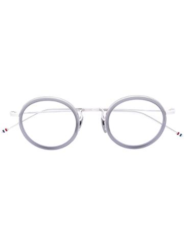 Thom Browne - Tbx906 Glasses - Unisex - Acetate/metal - 46, Grey, Acetate/metal