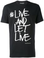 Neil Barrett - Printed T-shirt - Men - Cotton - L, Black, Cotton