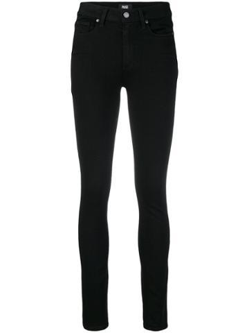 Paige Stretch Slim-fit Jeans - Black