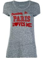 Zadig & Voltaire Somebody In Paris Loves Me T-shirt - Grey