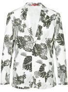 Loveless Floral Print Blazer - White
