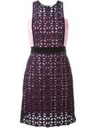 Msgm Layered Crochet Dress