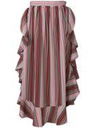 Isa Arfen Flared Midi Skirt - Multicolour