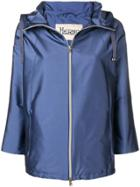 Herno Short Rain Coat - Blue
