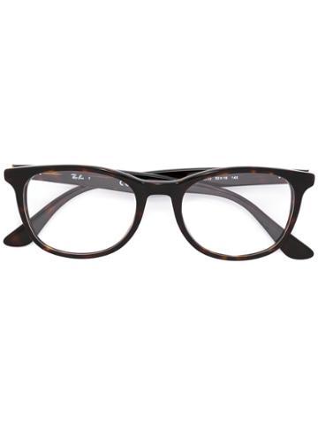 Ray-ban Square Frame Glasses, Black, Acetate
