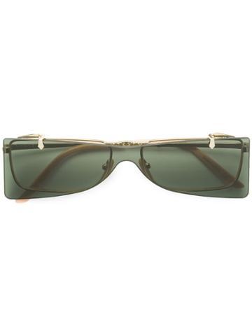 Gucci Eyewear Convertible Glasses - Gold