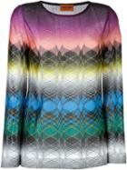 Missoni Zigzag Print Knit Top