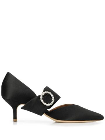 Malone Souliers Maite 45 Embellished Pumps - Black