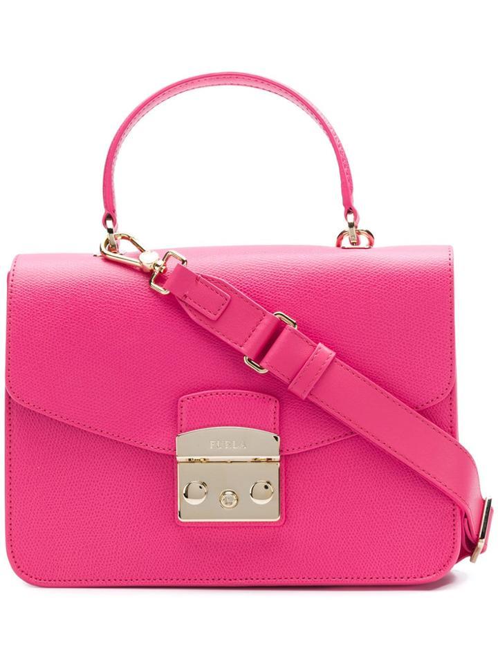 Furla Metropolis Satchel - Pink
