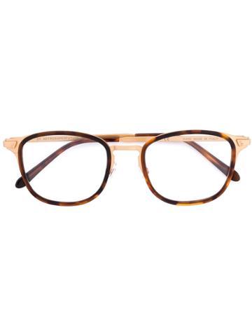 Numero 22 Glasses - Unisex - Acetate/metal - 51, Brown, Acetate/metal, Retrosuperfuture