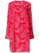 Dvf Diane Von Furstenberg Printed Drop Dress - Red