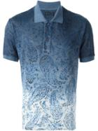 Etro Ombre Printed Polo Shirt