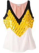 Altuzarra Sequin Embellished Top