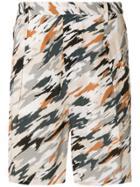 Lemaire Camouflage Shorts - Multicolour
