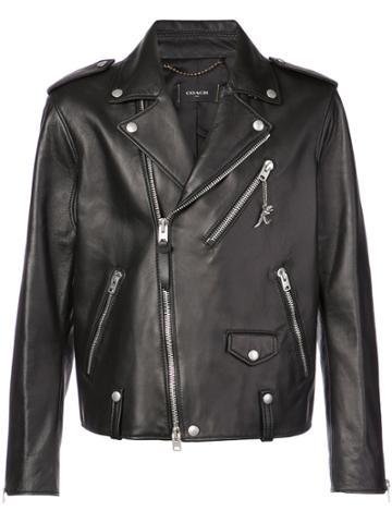 Coach Moto Jacket - Black