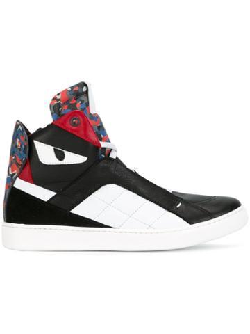 Fendi Kids Bag Bugs Hi-top Sneakers