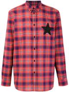 Givenchy Plaid Buttondown Shirt - Red