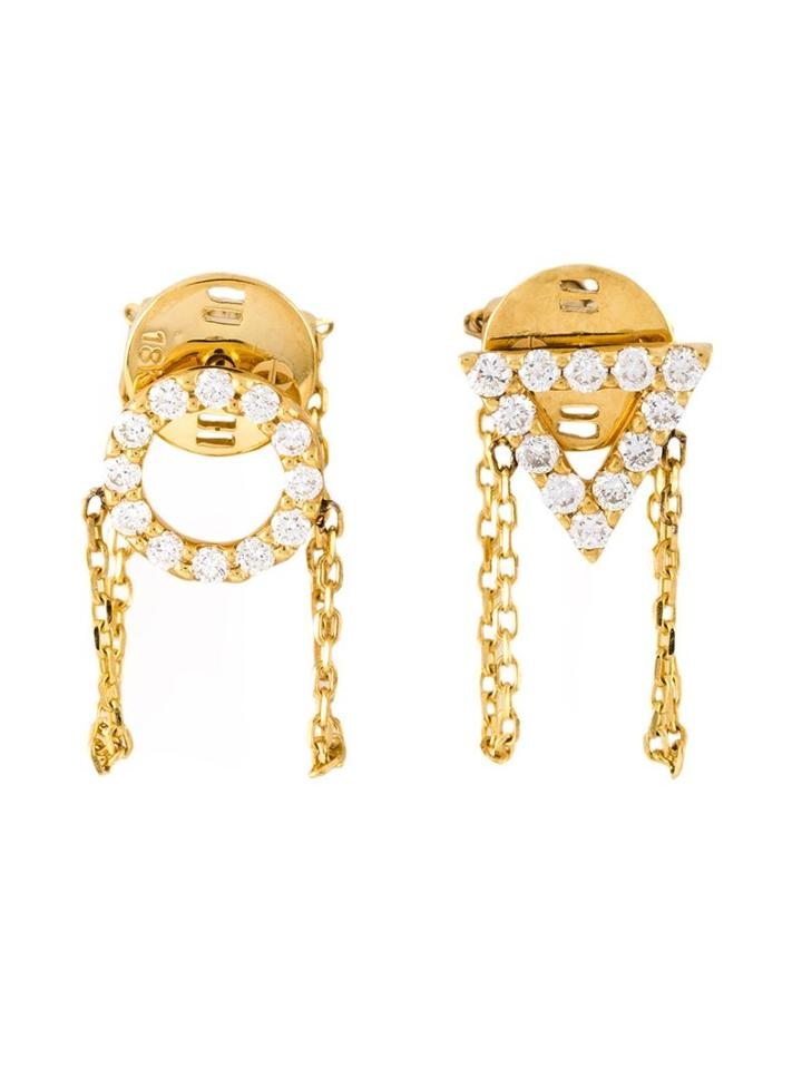 Gisele For Eshvi 'april' Earrings, Women's, Metallic