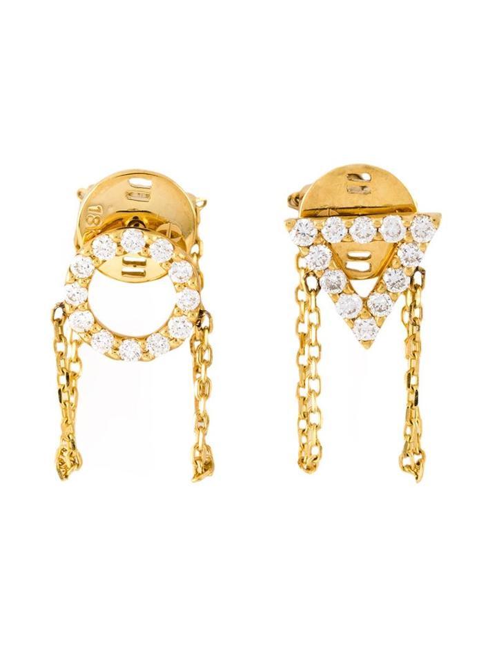 Gisele For Eshvi 'april' Earrings, Women's, Metallic