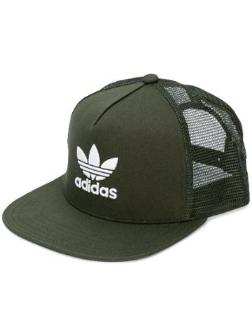 Adidas Adidas Originals Trefoil Trucker Cap - Green