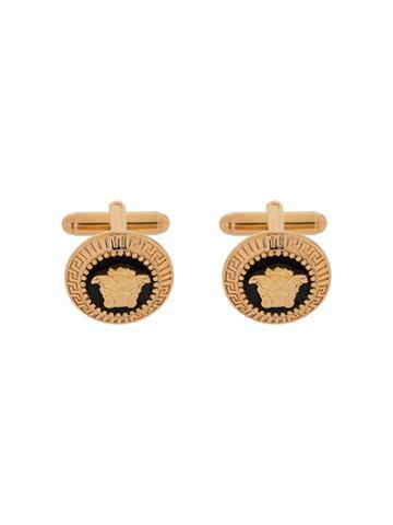 Versace Medusa Head Cufflinks - Gold