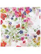 Blugirl Floral Scarf - White