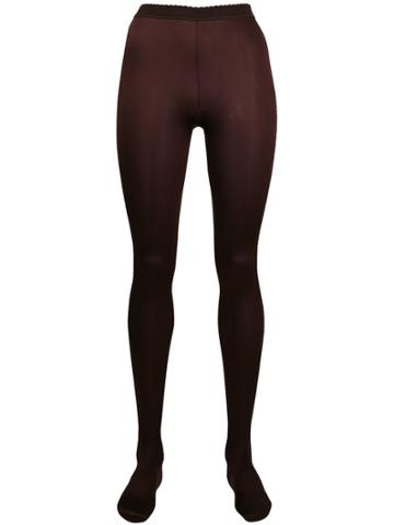 Wolford Deluxe Tights - Red
