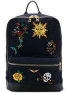 Zadig & Voltaire Arizona Broderie Backpack - Blue