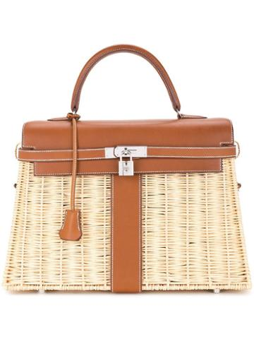 Hermès Pre-owned Kelly Picnic Bag - Brown