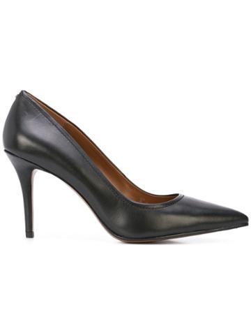 Coach Coach G2399 Blk Leather/fur/exotic Skins->leather - Black