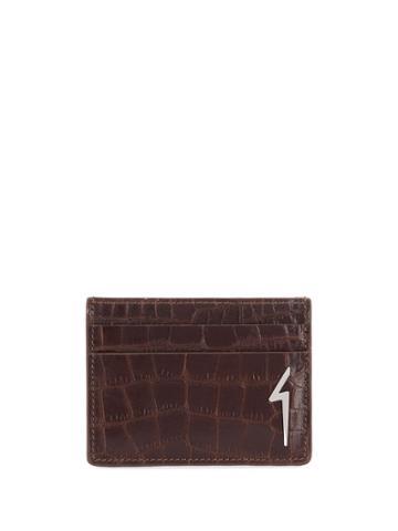 Giuseppe Zanotti Albert Flash Card Case - Brown