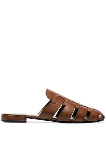 Church's Becky Cutout Slippers - Brown