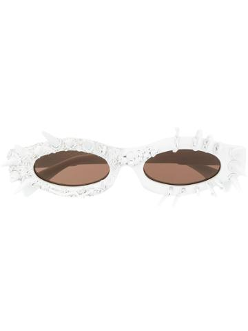 Kuboraum Temper Temper Sunglasses - White