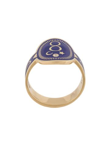 Foundrae Karma Cigar Ring, Women's, Size: 6, Metallic