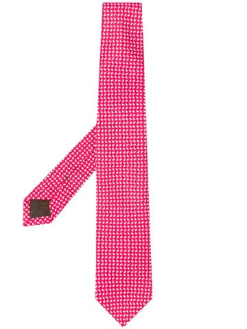 Church's Paisley Pattern Tie - Red