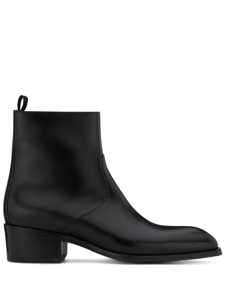 Giuseppe Zanotti Abbey Ankle Boots - Black