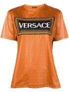 Versace Vintage Logo T-shirt - Brown