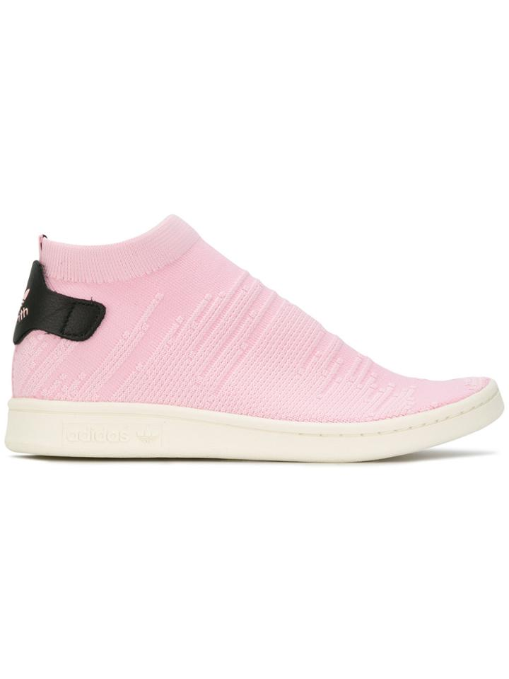 Adidas Adidas Originals Stan Smith Shock Primeknit Sneakers - Pink &