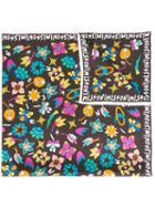 Missoni Floral Print Scarf, Women's, Silk