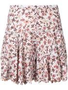 Chloé Floral Print Shorts - Grey