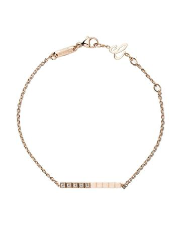 Chopard 18kt Rose Gold Ice Cube Pure Diamond Bracelet - Fairmined Rose